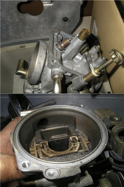 KTM 640 ADVENTURE 整備点検 ②キャブ_e0218639_10222197.jpg