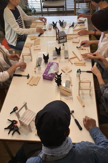 DIYワークショップ『ミニチュア椅子を作ろう!』6月の部が終了しました。_c0334574_16294206.jpg