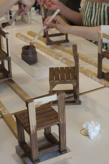 DIYワークショップ『ミニチュア椅子を作ろう!』6月の部が終了しました。_c0334574_16321279.jpg