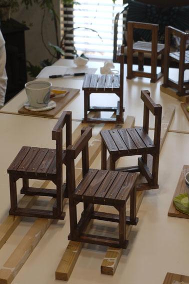 DIYワークショップ『ミニチュア椅子を作ろう!』6月の部が終了しました。_c0334574_16325395.jpg