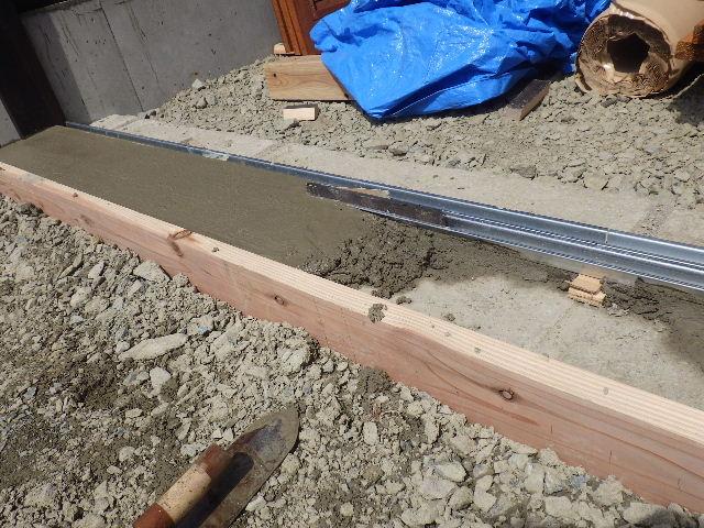 木造ガレージを造る  完成!_f0105112_4245131.jpg