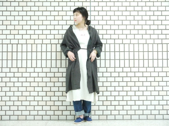 Vintage styling~atelier coat~_f0335217_18423827.jpg