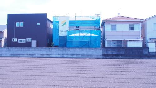 住宅の耐震改修工事始まりました_e0064493_11204431.jpg