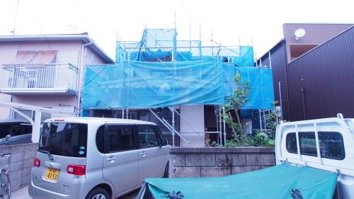住宅の耐震改修工事始まりました_e0064493_11211034.jpg