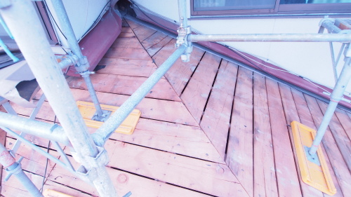 住宅の耐震改修工事始まりました_e0064493_11212261.jpg