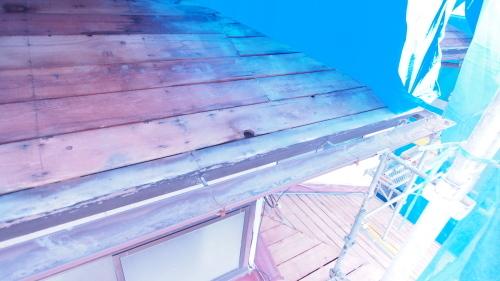 住宅の耐震改修工事始まりました_e0064493_11214036.jpg