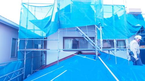 住宅の耐震改修工事始まりました_e0064493_11215220.jpg