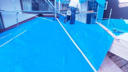 住宅の耐震改修工事始まりました_e0064493_11215957.jpg