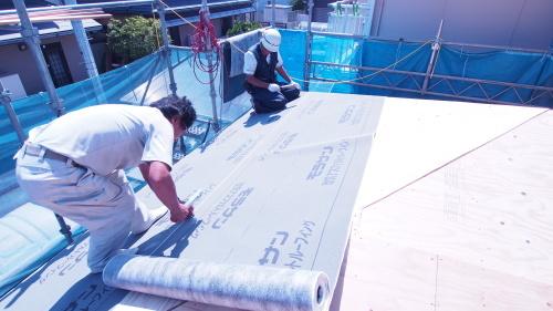 住宅の耐震改修工事始まりました_e0064493_11222790.jpg