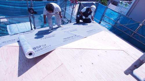 住宅の耐震改修工事始まりました_e0064493_11223407.jpg