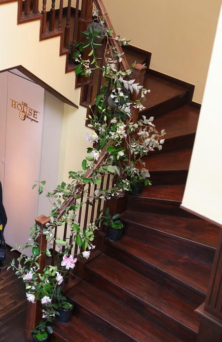 初夏の装花 一生に一度の素敵な一日に ザ・ハウス白金様へ_a0042928_2031267.jpg