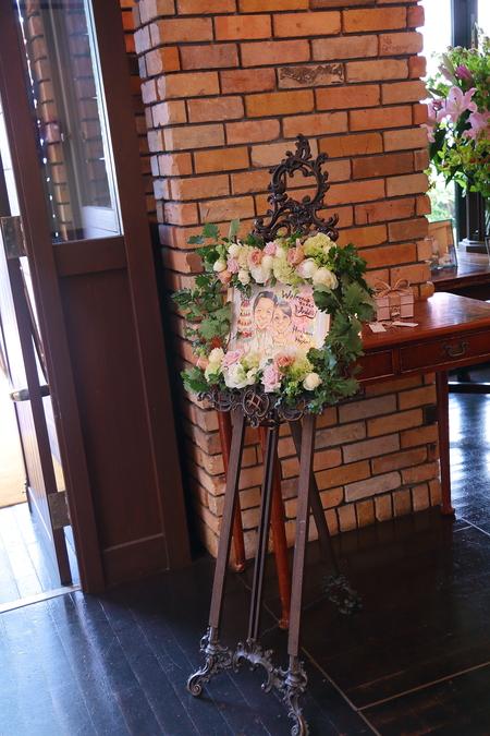 初夏の装花 一生に一度の素敵な一日に ザ・ハウス白金様へ_a0042928_20365035.jpg