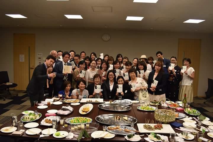 「女性選挙戦略家 鈴鹿久美子氏」の出版記念パーリィに行って来ました!_f0340942_23212463.jpg