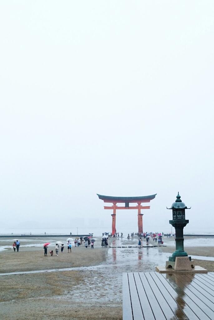 雨の宮島_c0199544_20084060.jpg
