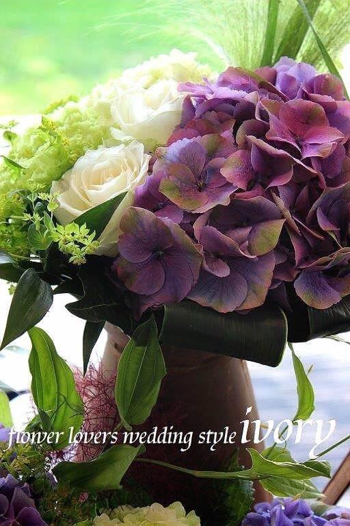 週末の婚礼から〜♬_b0094378_16424345.jpg