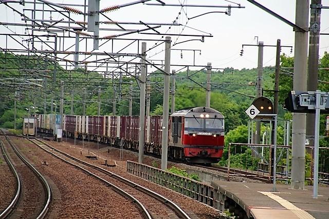 藤田八束の鉄道写真@貨物列車の写真、北海道、東北、関東、山陽、九州を走る_d0181492_08163286.jpg