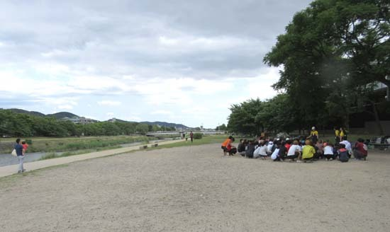 鴨川夏景色2 休日_e0048413_21273702.jpg
