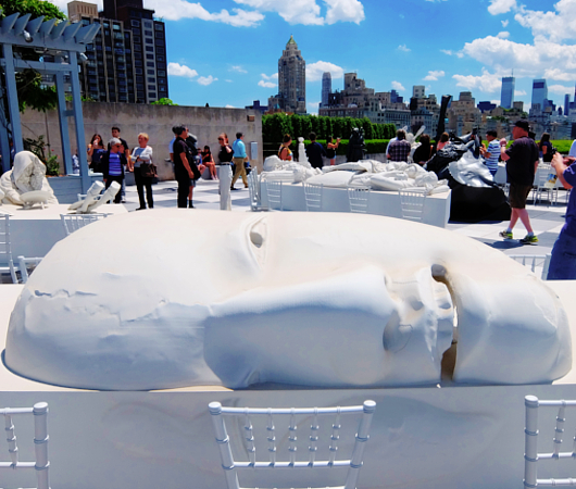 メトロポリタン美術館の屋上 rooftop sculpture garden_b0007805_0532797.jpg