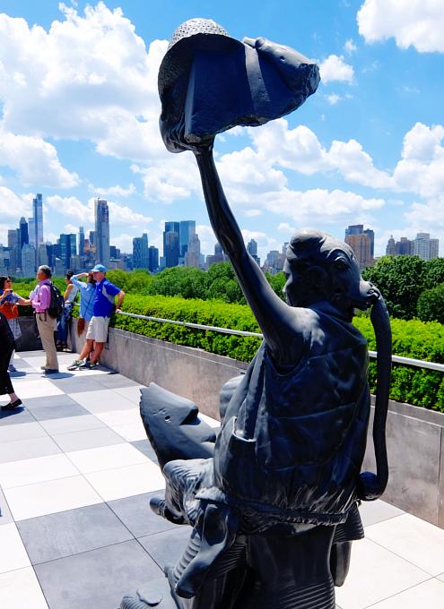 メトロポリタン美術館の屋上 rooftop sculpture garden_b0007805_0584024.jpg