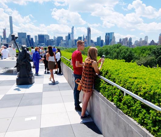 メトロポリタン美術館の屋上 rooftop sculpture garden_b0007805_058593.jpg