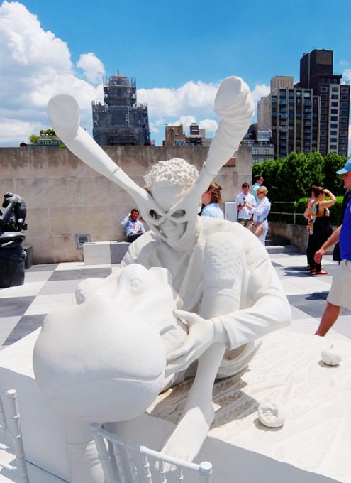 メトロポリタン美術館の屋上 rooftop sculpture garden_b0007805_111542.jpg