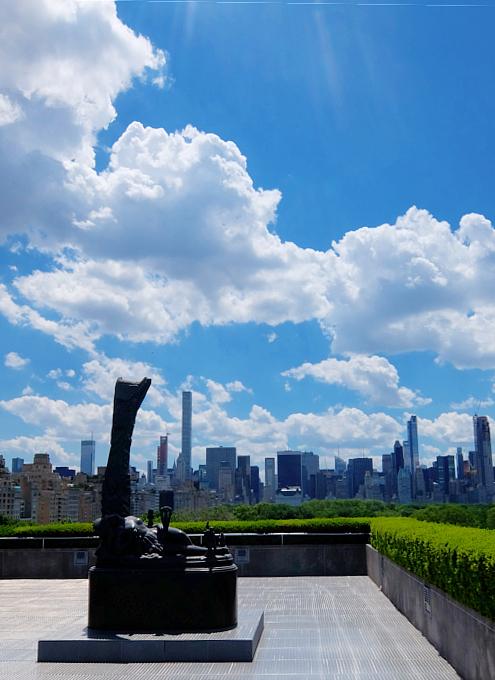 メトロポリタン美術館の屋上 rooftop sculpture garden_b0007805_15144.jpg