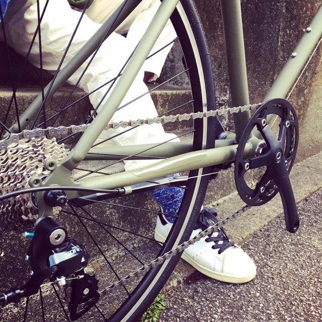 tokyobike SPORT 9s トーキョーバイク おしゃれ自転車 自転車女子 自転車ガール クロスバイク リピトデザイン 650c_b0212032_20491442.jpg