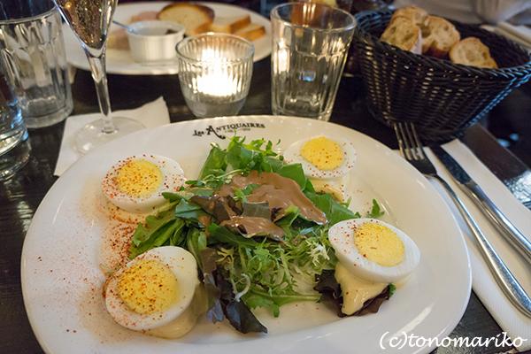 フランスのカフェのド定番「卵マヨネーズ」_c0024345_09242801.jpg