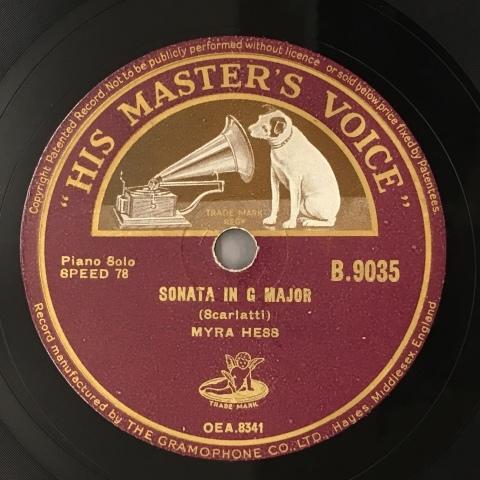 新入荷レコードのご紹介:マイラ・ヘス(p)スカルラッティのソナタ_a0047010_19035815.jpg