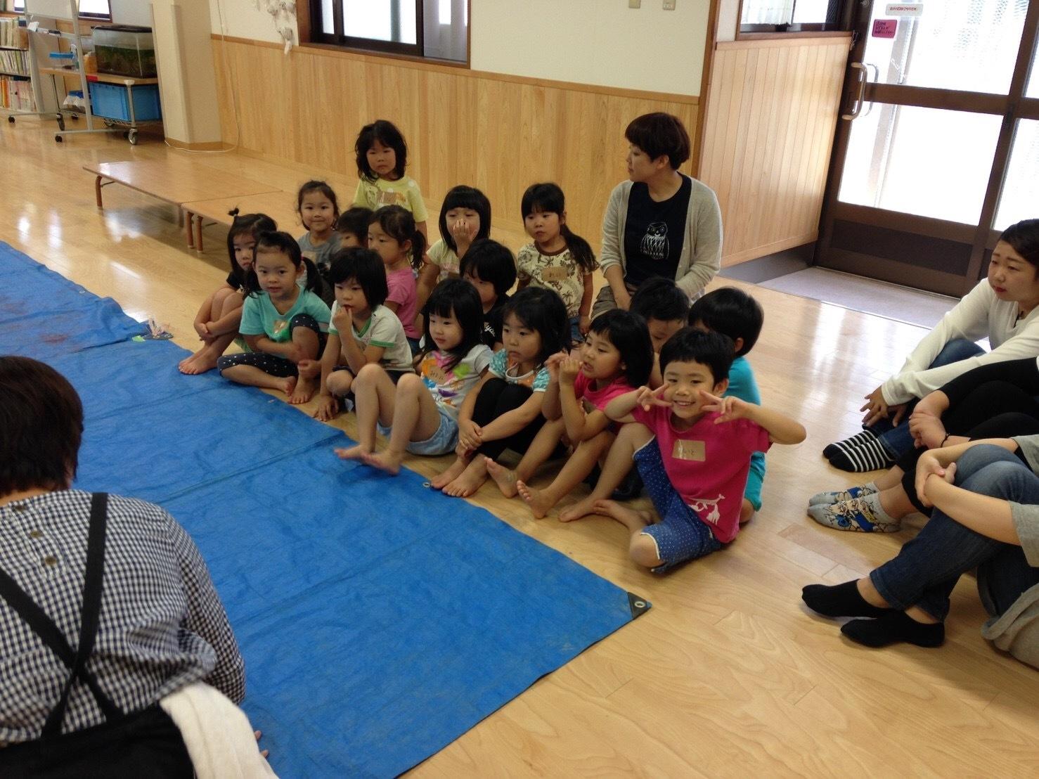 4歳児クラスワークショップをしました_c0151262_13370762.jpg