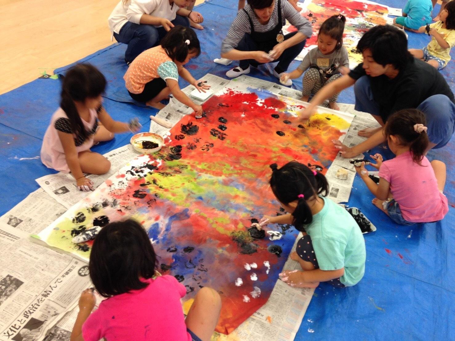 4歳児クラスワークショップをしました_c0151262_13414881.jpg