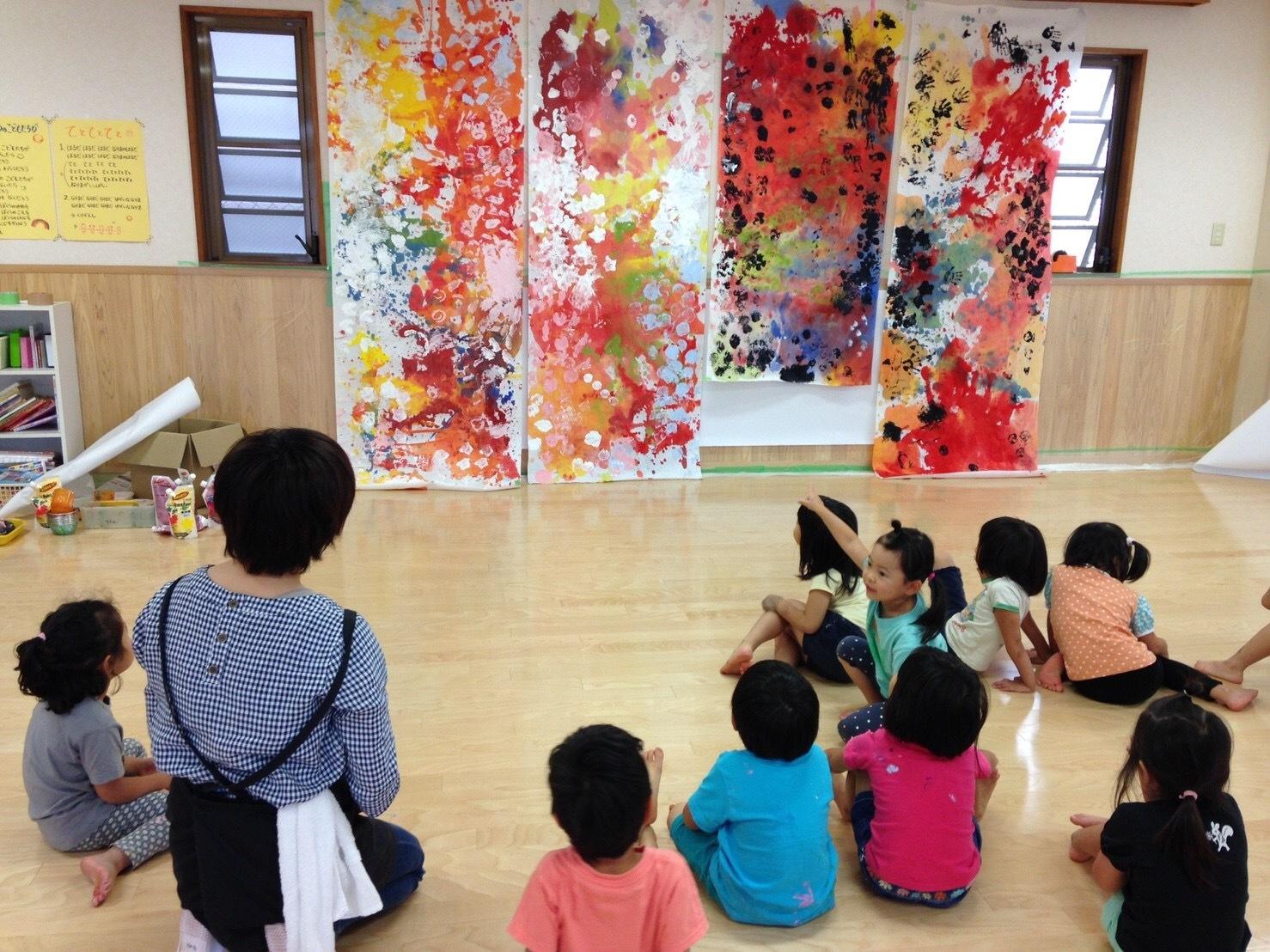 4歳児クラスワークショップをしました_c0151262_13420909.jpg
