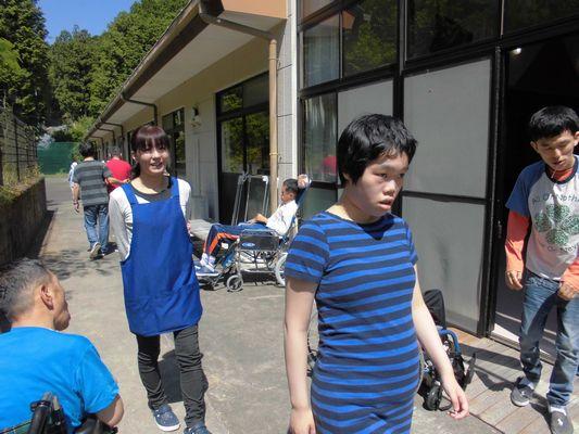 6/15 歩行練習_a0154110_1044942.jpg