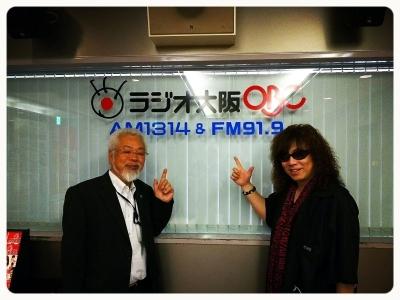 ■ 大阪といえばラジオ大阪OBC~「ほんまもん!」出演_b0183113_23564671.jpg