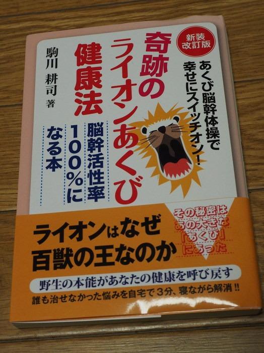 奇跡のライオンあくび健康法_c0116915_23372823.jpg