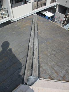 北区の赤羽で、屋根修理工事_c0223192_22084050.jpg