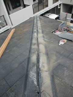 北区の赤羽で、屋根修理工事_c0223192_22084656.jpg