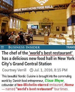 グランドセントラル駅構内の「グレート・ノーザン・フード・ホール」 The Great Northern Food Hall_b0007805_22163854.jpg