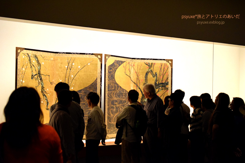MOA美術館*尾形光琳《紅白梅図屏風》を観る_e0131432_22331347.jpg