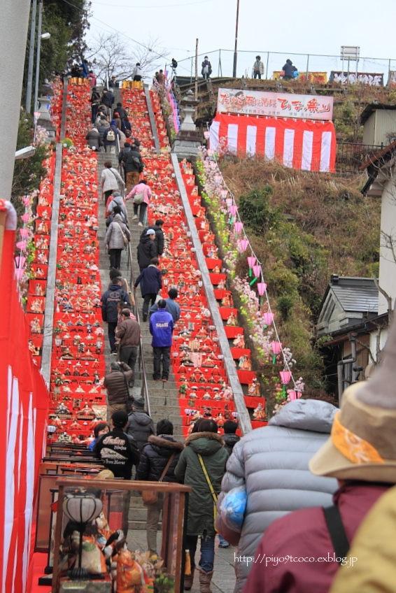百段階段 DE ひな祭り♪_d0367763_18150492.jpg