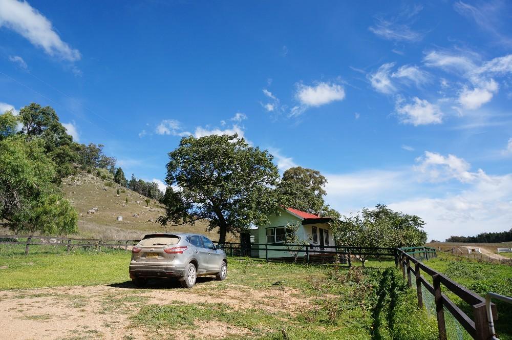 青い空とドロだらけの車_a0095470_13203461.jpg