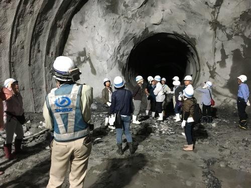 高速トンネル工事見学_d0141987_18532839.jpg