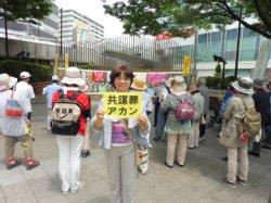 共謀罪法強行に抗議する怒りの市民集会に参加_c0133422_25049100.jpg
