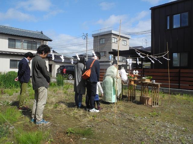 現場の様子(大島新町の家) その一_c0247768_948869.jpg