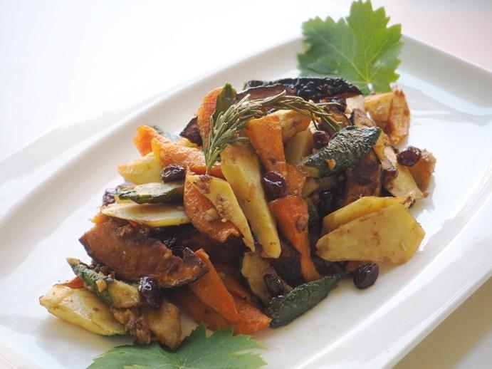 五種類野菜のお酢炒め_e0148373_13152549.jpg