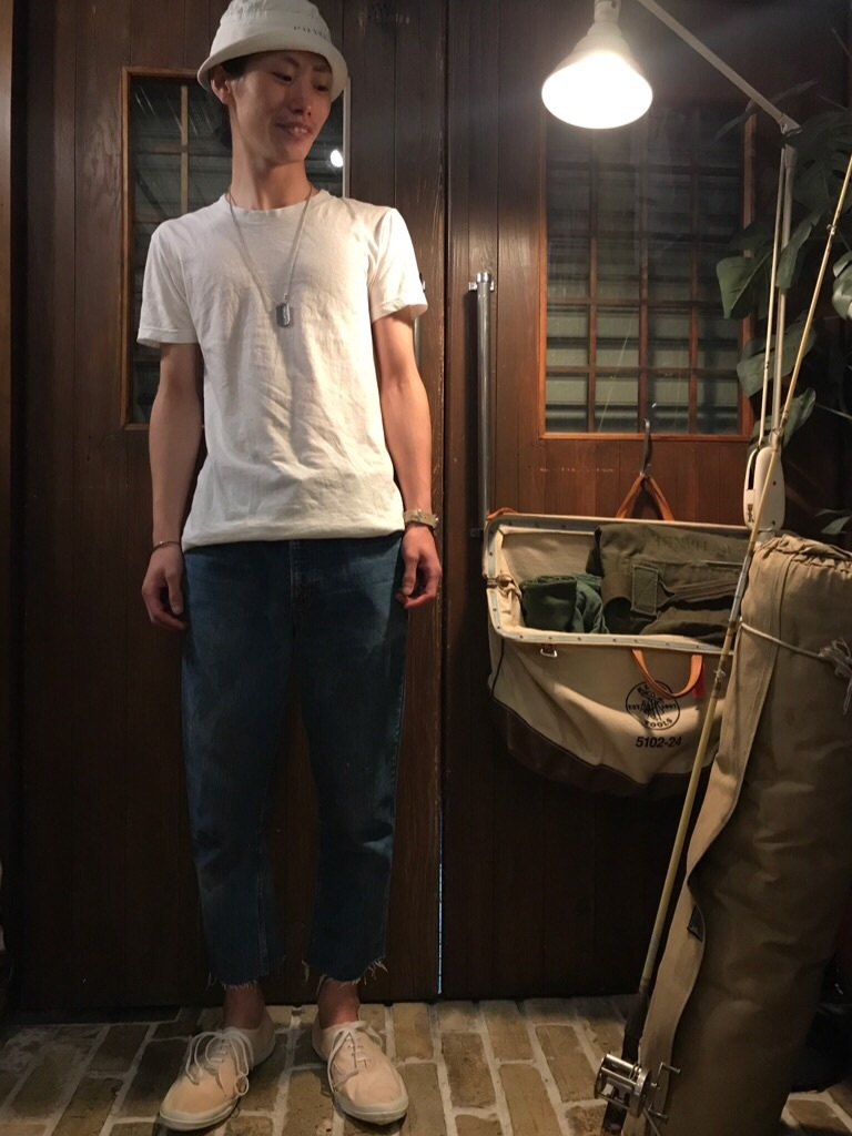 神戸店6/21(水)ヴィンテージ入荷!#5 LEVI\'S 606 Big E!DenimShorts,Solid T!!!_c0078587_22590201.jpg