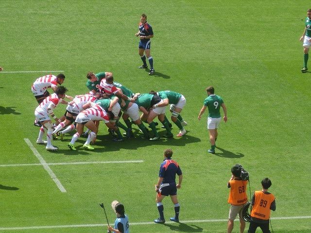 日本は22-50で完敗 「日本VSアイルランド」 24日(土)の第2戦は緊迫したゲームを期待_f0141310_07252829.jpg