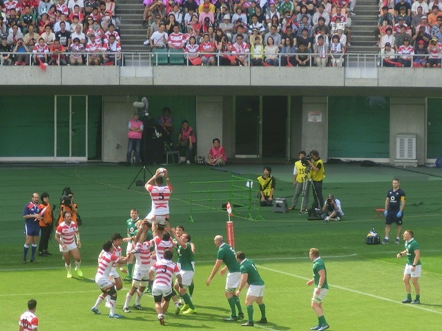日本は22-50で完敗 「日本VSアイルランド」 24日(土)の第2戦は緊迫したゲームを期待_f0141310_07260232.jpg