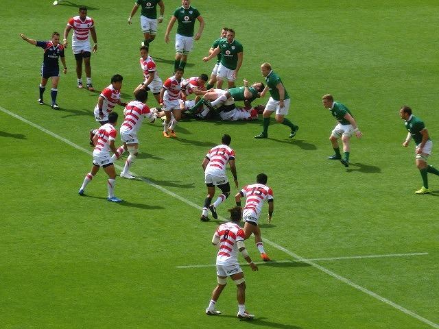 日本は22-50で完敗 「日本VSアイルランド」 24日(土)の第2戦は緊迫したゲームを期待_f0141310_07260949.jpg