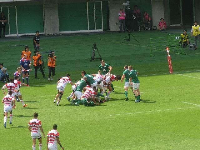 日本は22-50で完敗 「日本VSアイルランド」 24日(土)の第2戦は緊迫したゲームを期待_f0141310_07261659.jpg